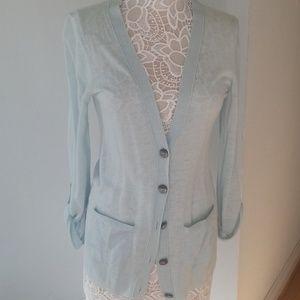 Linen blend summer cardigan